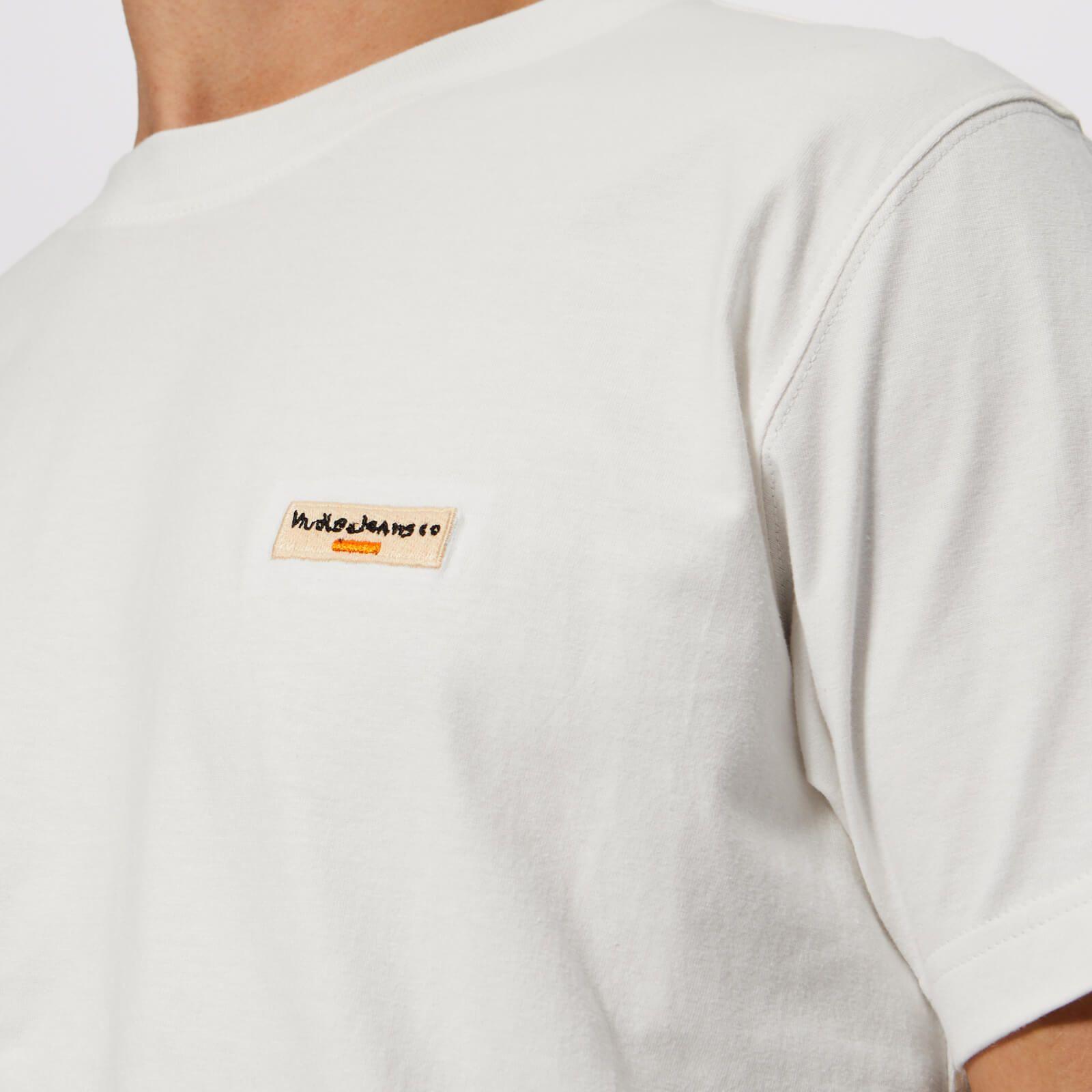 Pluszing Men Summer Top Short Sleeve Tee Letter Print T-Shirt