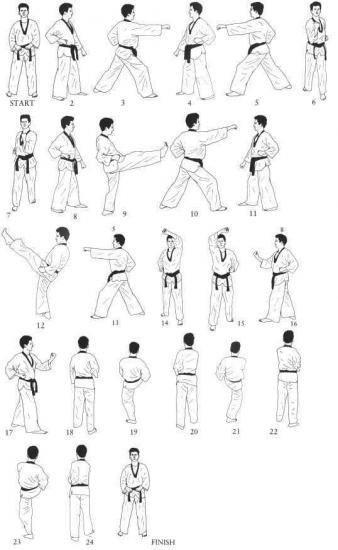 Pin by BrandonBuzarde ChristiAnders on WTF Taekwondo Form