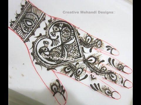 Youtube Valentine Day Special Heart Shape Henna Mehndi