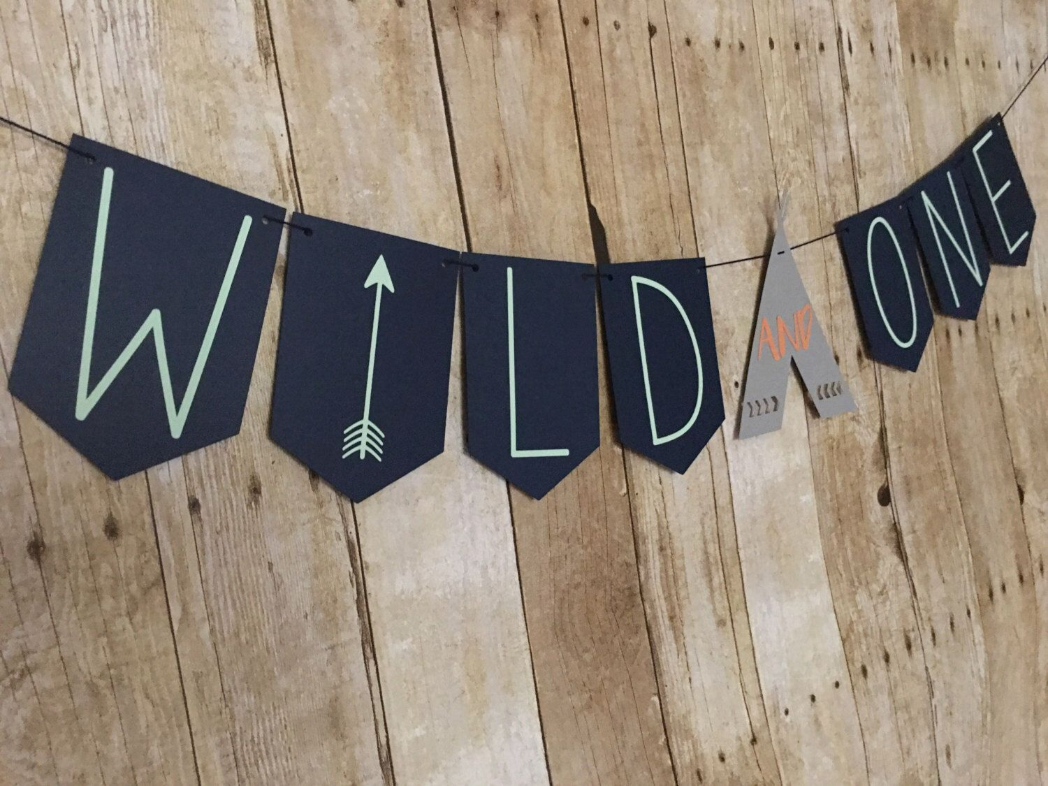 Set of 50 He is a Wild One Sticker Labels Tribal Boho Boy Birthday Baby Shower Party Favors