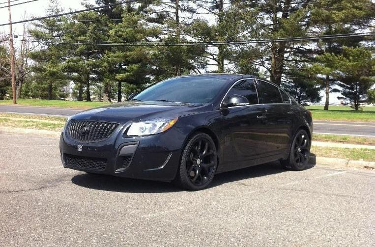 Buick Regal Gs Turbo Blacked Out