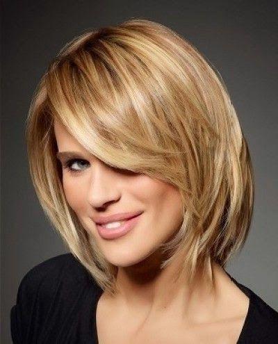 Coupe de cheveux courte pour femme forte