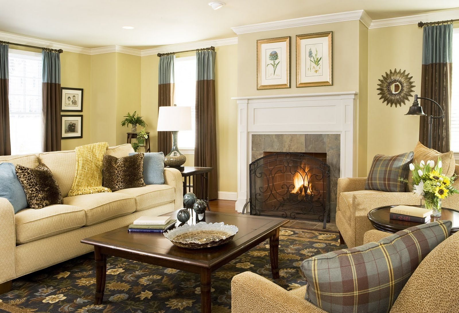 Best Cozy Living Room Design Ideas Blue And Yellow Living Room Yellow Living Room Brown Couch Living Room