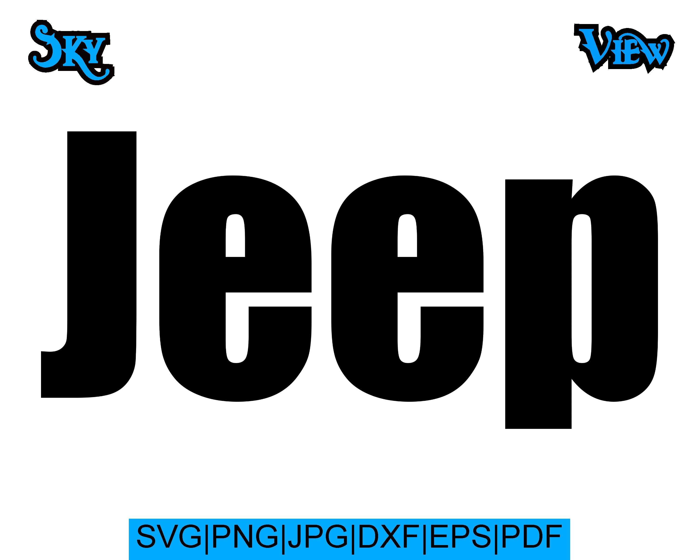 Jeep Logo Svg
