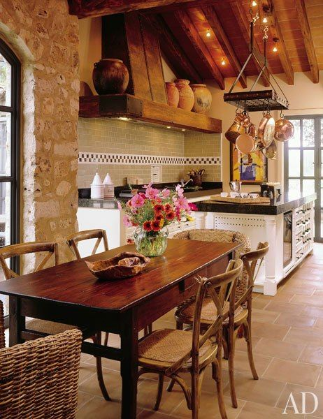 29 rustic kitchen ideas you 39 ll want to copy k che for Spanische einrichtung