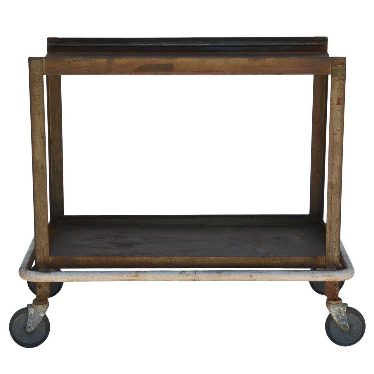Sy Bar Cart On Wheels