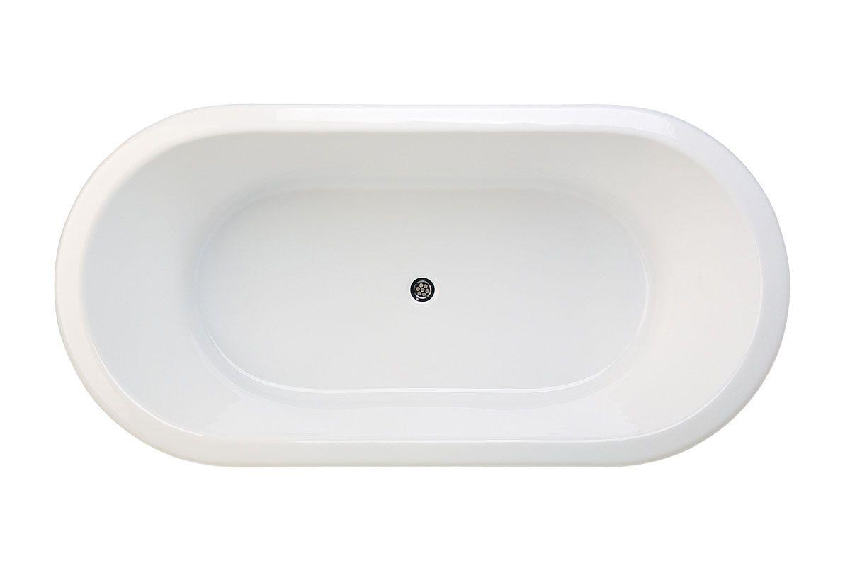 Posh Domaine Oval Bath, 1800mm. Reece $861.99 inc gst (has a normal ...