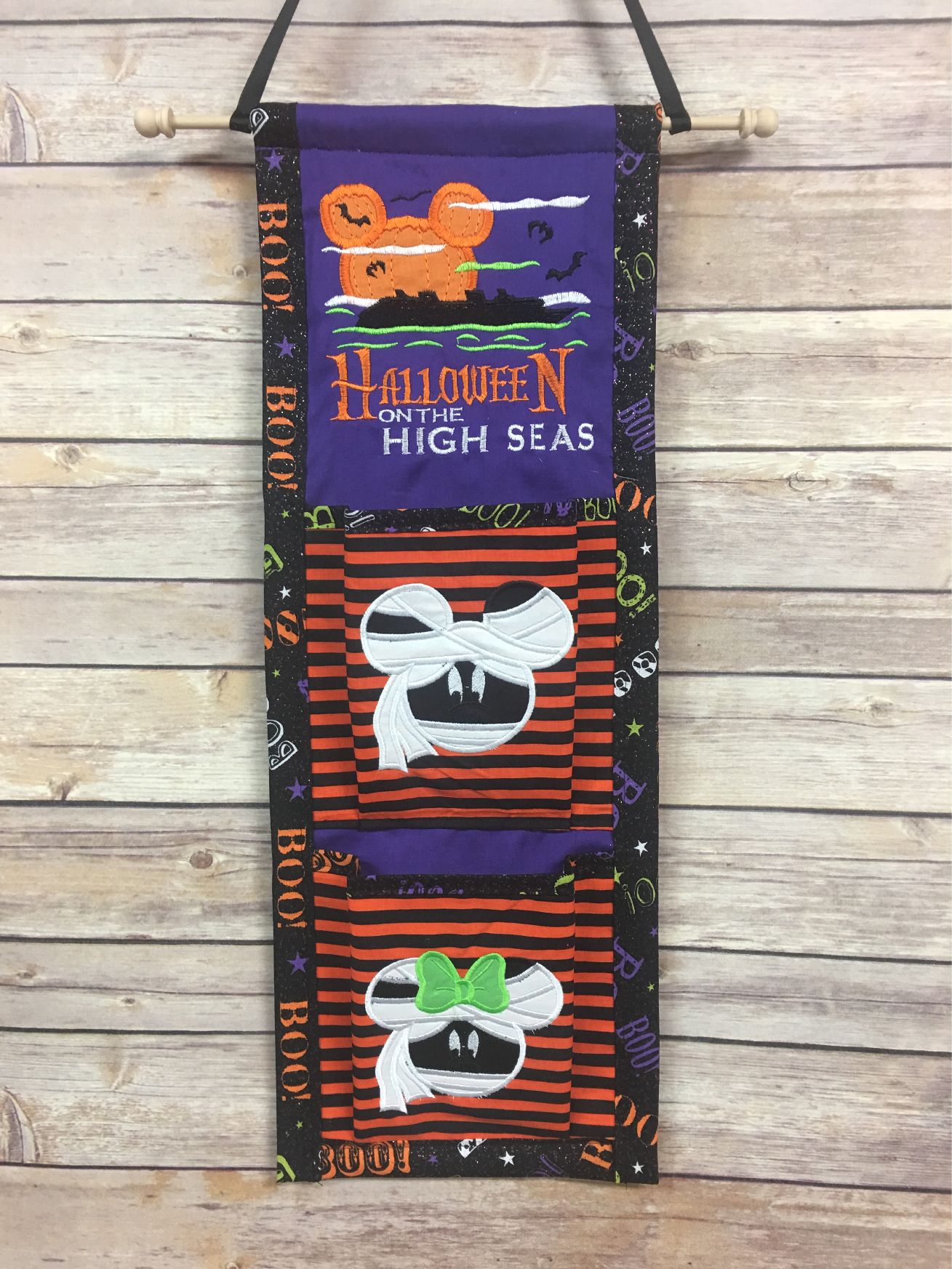 Halloween Disney High Seas Black And White 2020 Halloween Logo Stitches & Tutus   Disney crafts, Fish extender, Fe gifts