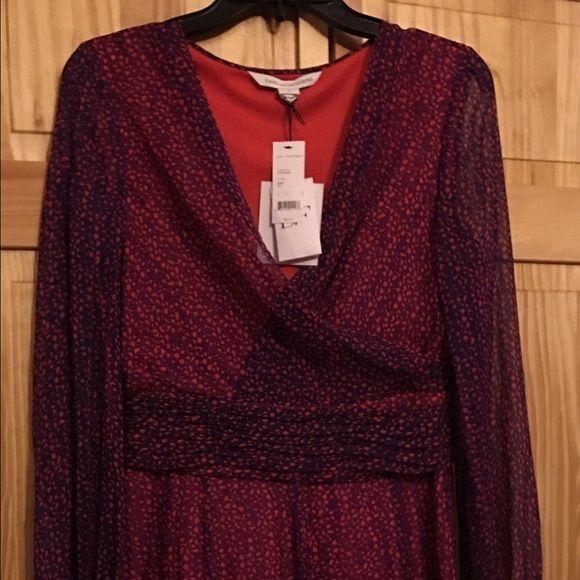 Diana von furstenber size 6 Cocktail dress Diana von fustenberg Diane von Furstenberg Dresses Long Sleeve