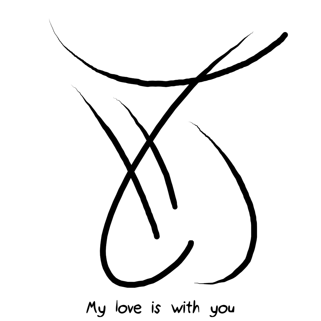 My Love Is With You Sigil Requests Are Closed Sigial Pinterest