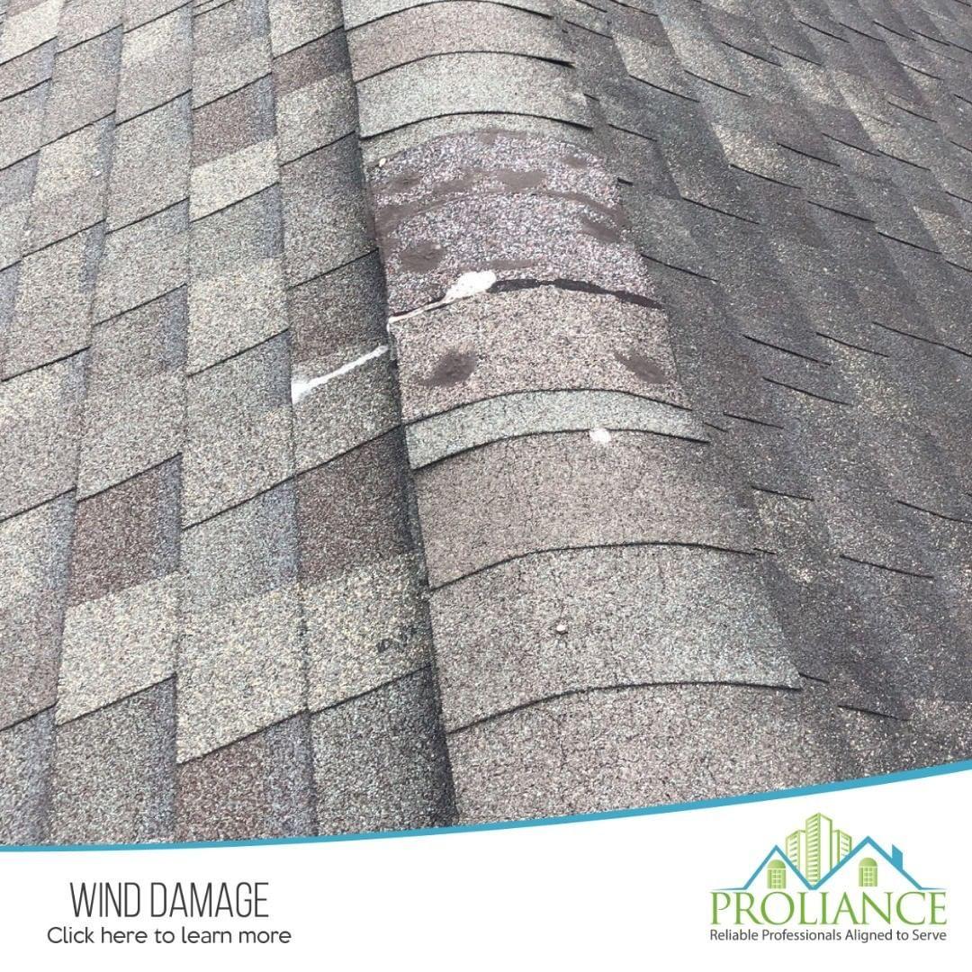 Roof damage roof damage wind damage roof
