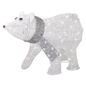 Target Mobile Site Philips Lighted Glitter String Polor Bear Outdoor Décor Figurine 50