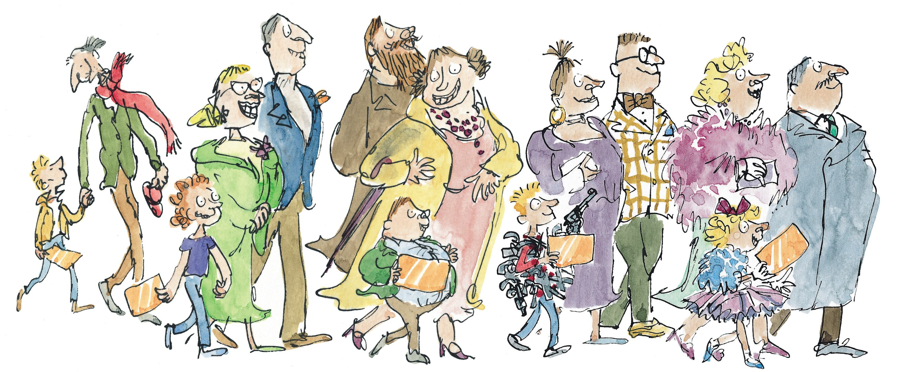 Charlie And The Chocolate Factory Quentin Blake