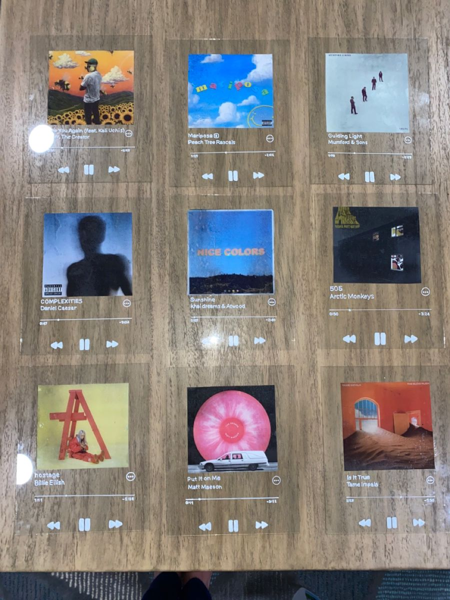 Customizable glass album covers in 2020 diy room decor