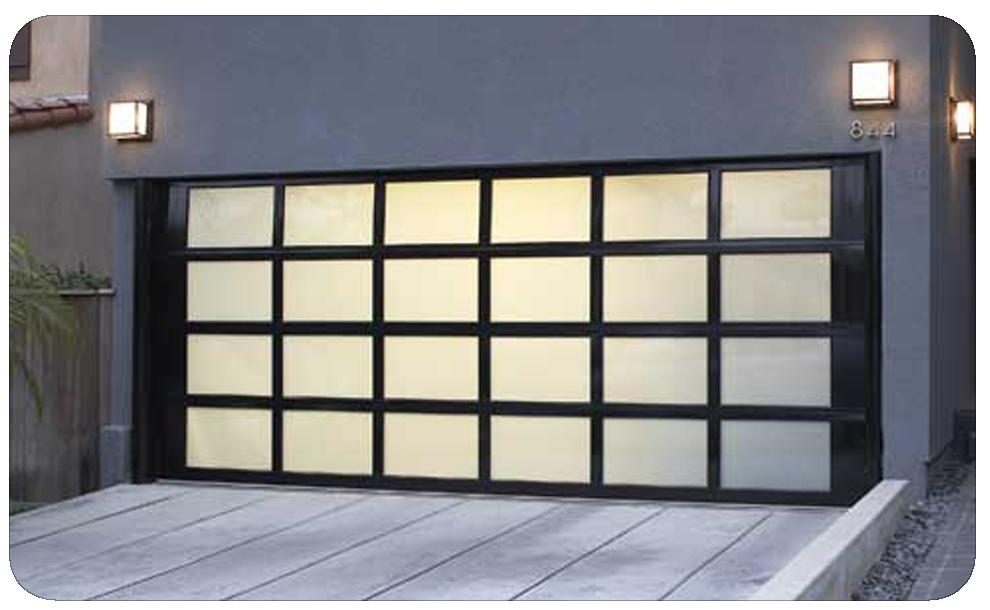 Brano Glass & Aluminium Sectional Garage Doors … | Garage ...