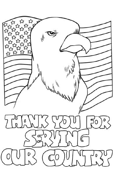 military thank you coloring pages - photo#4