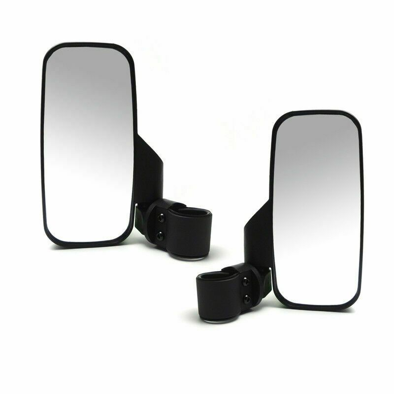 Green Side View Mirror Set 2004-2019 John Deere Gator HPX XUV 550 625 825 855