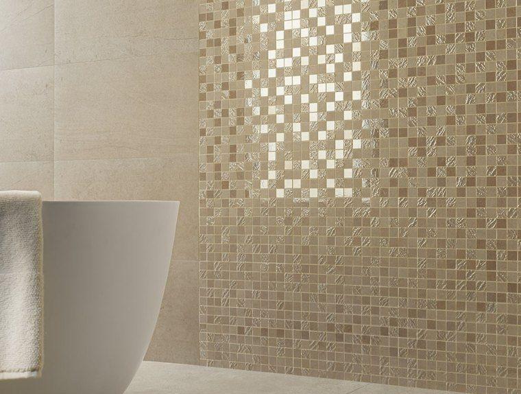 Idée carrelage salle de bain du0027inspiration design - petit carreau salle de bain