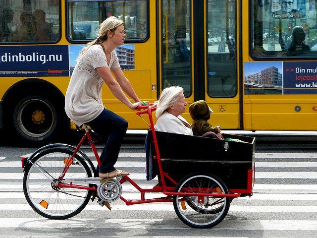 Three Generations | Cargo bike, Bicycle, Bike culture