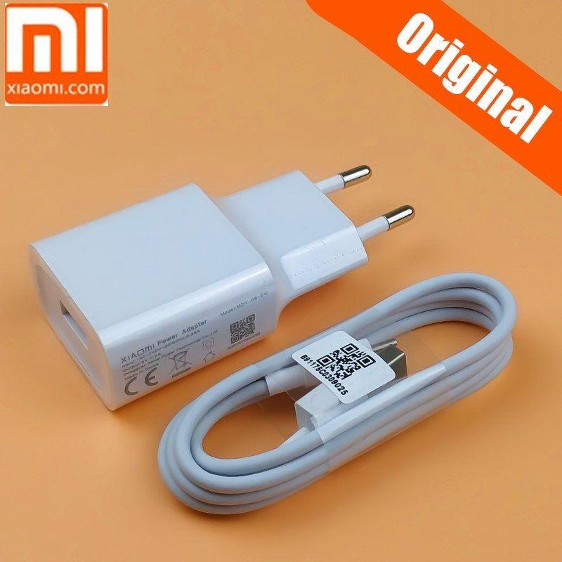 Original Xiaomi Mi A2 Lite Usb Charger 5v 2a Eu Wall Power Adapter For Redmi 6 5 6a 5a 4a Note 5 Pro 3 6 4x S2 4 Micro U Micro Usb Micro Usb Cable Usb Chargers