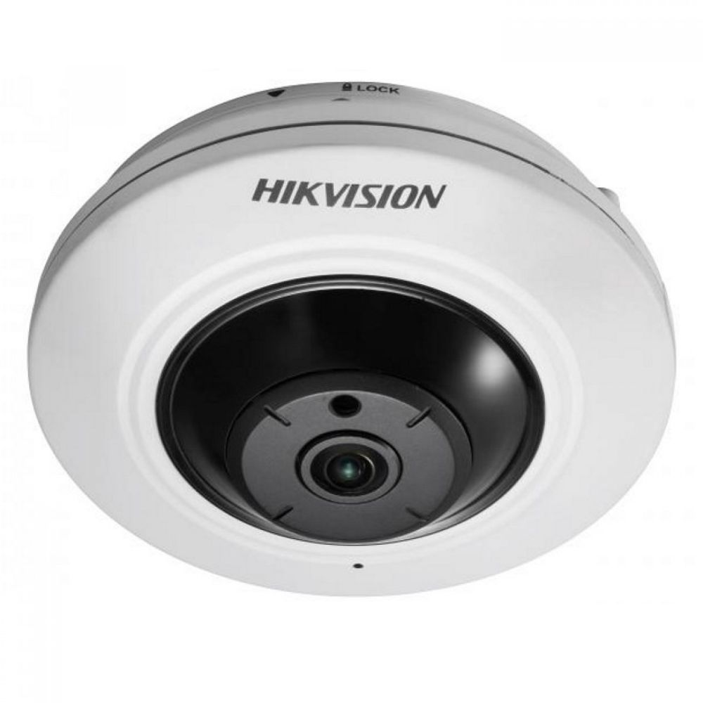 HIKVISION DS-2CD2935FWD-I 3 MP Network Fisheye Camera H 265 NO SOUND
