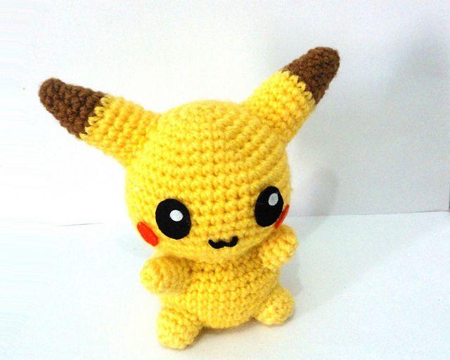 Pikachu Pokemon Amigurumi pattern by Erin Huynh | Pinterest ...