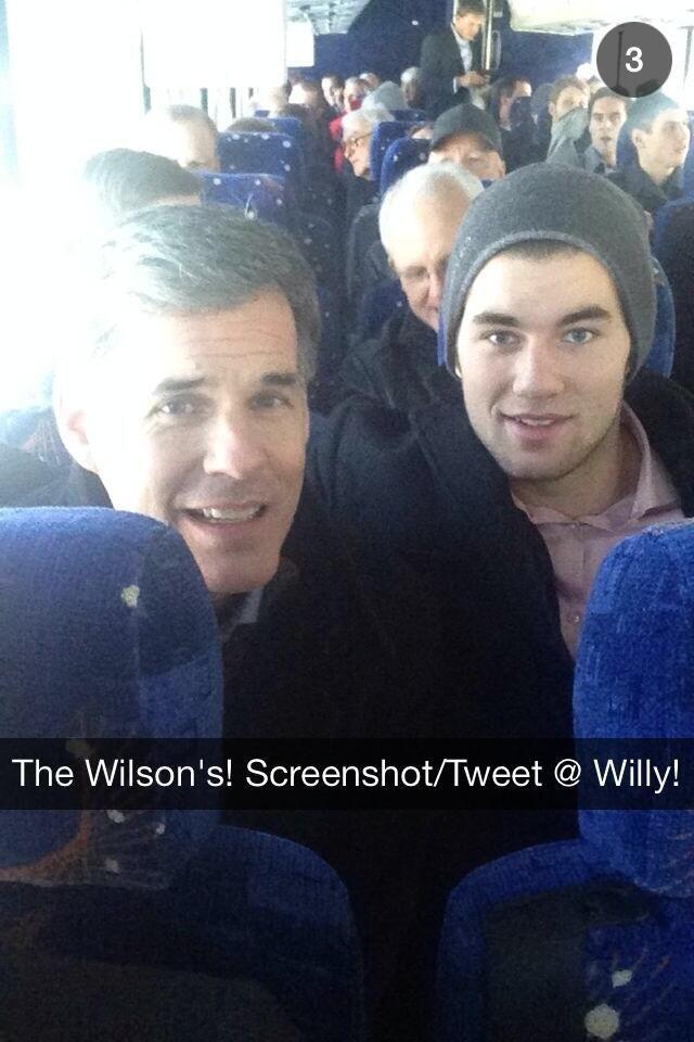 38a7e4869 Tom Wilson and his dad ~Washington Capitals~