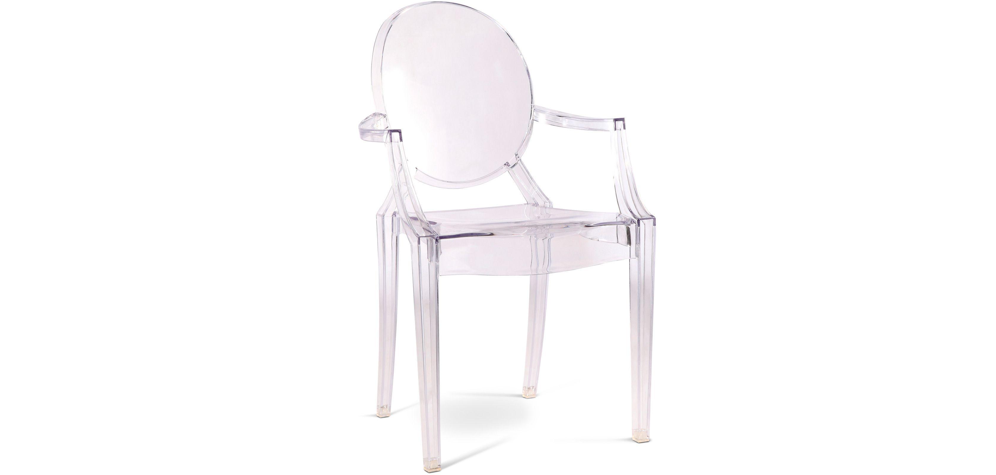 Fauteuil Louis Ghost De Philippe Starck fauteuil style louis ghost - inspiré philippe s.