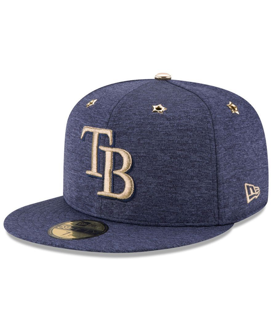 2bea1612c95 New Era Boys  Tampa Bay Rays 2017 All Star Game Patch 59FIFTY Fitted ...