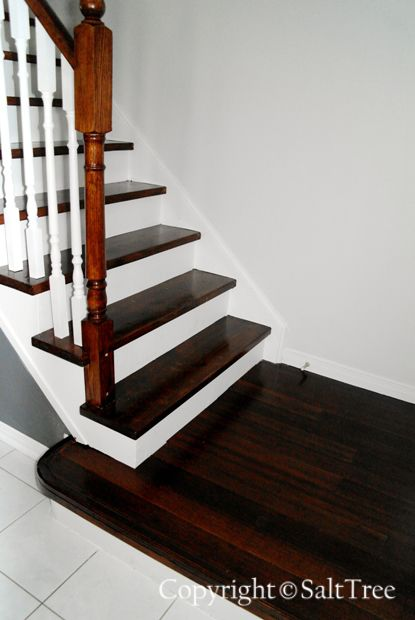 Best Salttree Staircase Makeover On A Budget Staircase 400 x 300