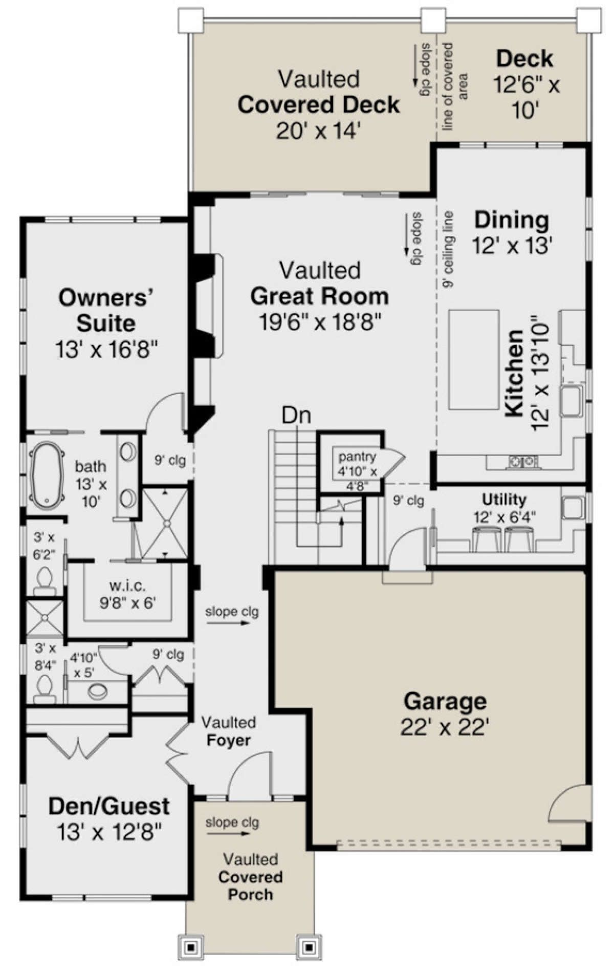 House Plan 035 00833 Contemporary Plan 2 928 Square Feet 4 Bedrooms 3 Bathrooms Contemporary House Plans House Plans How To Plan