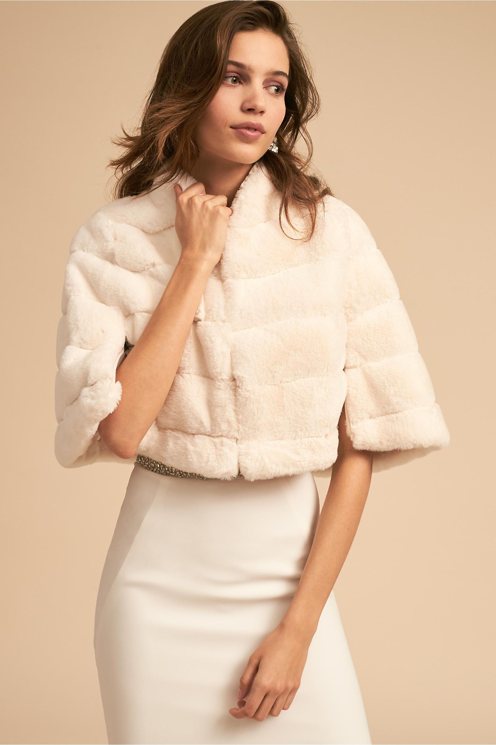 Bhldn S Betsey Johnson Callahan Jacket In Ivory Products