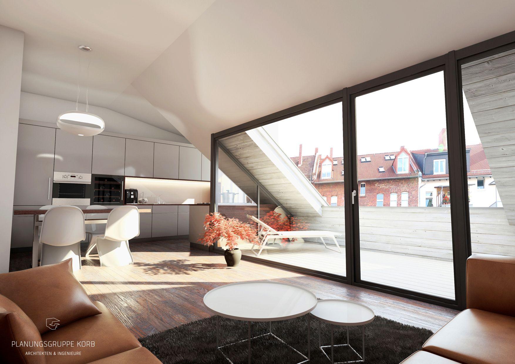 Eitelkeit Offene Küche Wohnzimmer Bilder Ideen Von Blick Vom In Die Küche Und Die