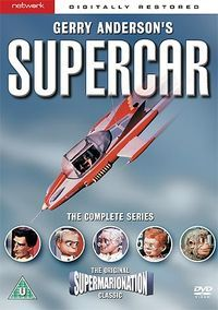 Supercar Super Cars Gerry Anderson Kids Tv Shows