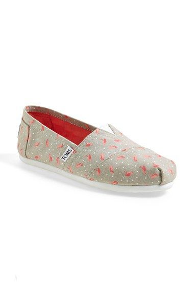 7a8413ccbe9 TOMS  Classic - Flamingo  Alpargata Flat (Women) available at  Nordstrom