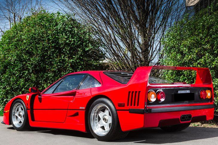 Ferrari F40 For Sale Through The Apex