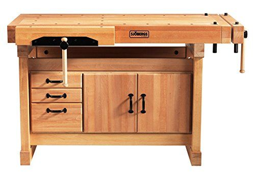 Sjobergs 33246 1500 Elite Woodworkers Beech Workbench, With Two Large Vices and Endless Options - - Amazon.com