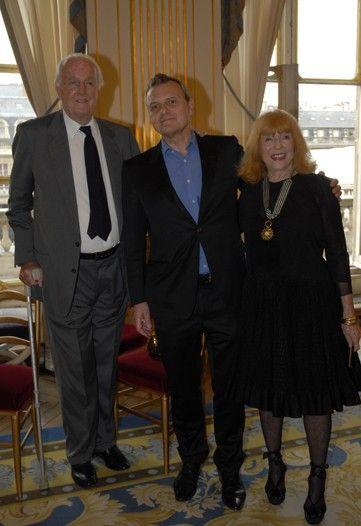 2010 - Honoring Bettina Graziani - with Hubert de Givenchy et Jean-Charles de Castelbajac