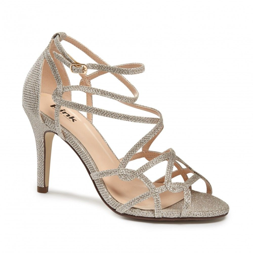 Robyn Champagne Madeline Wedding Shoes Women Shoes Heels Sandals Heels