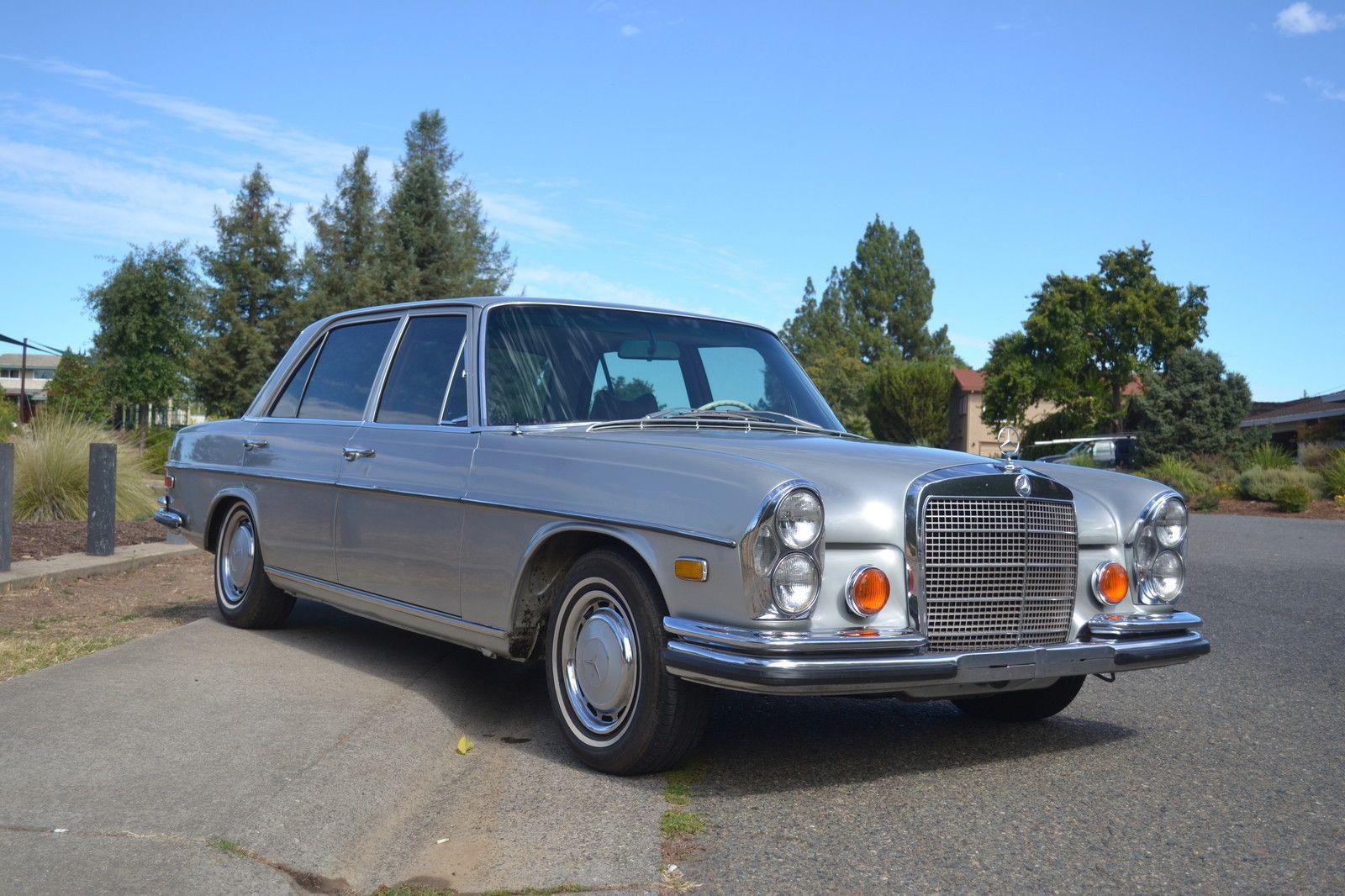 1973 mercedes 280 sel 4.5