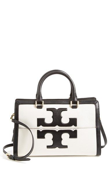 418baf0d4a5 Tory Burch  Jessica  Leather Satchel available at  Nordstrom ...