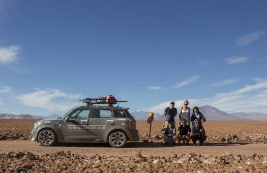 MINI Adventure in Argentina: A MINI Countryman Convoy Chases the Dakar Rally