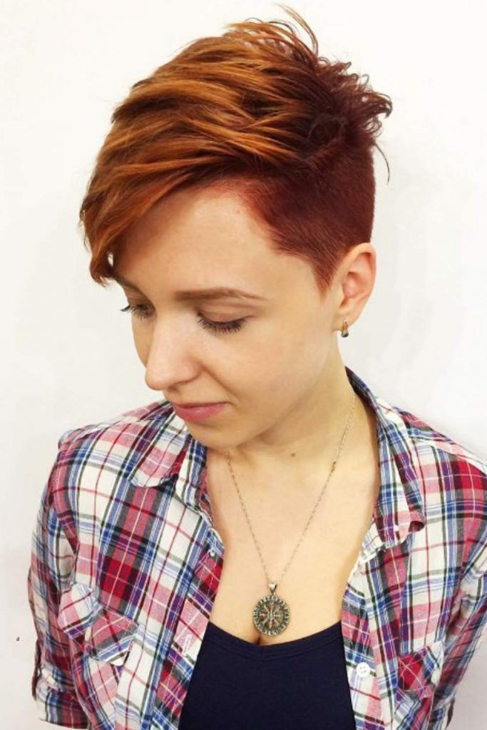 30 Cute & Rebellious Half Shaved Head Hairstyles For ...