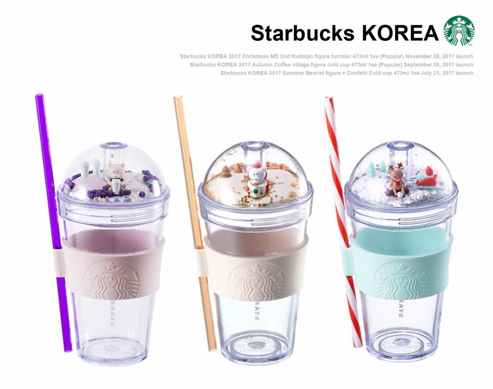 Starbucks KOREA 2017 Figure Bearist + Coffee village + Rudolph ...