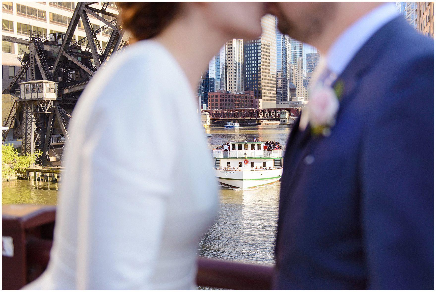 Carrie Holbo Photography | Chicago, IL | Wedding Photography | Kinzie Street Bridge