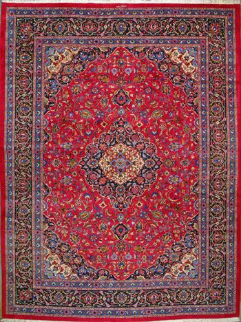 Mashad Persian Rug Handmade