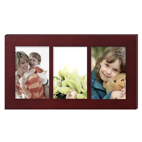 Furnistar 3 Opening Collage Picture Frame This Modern 3 Image Frame Can Be Hung Horizontally To D Picture Collage Collage Picture Frames Picture Frame Colors
