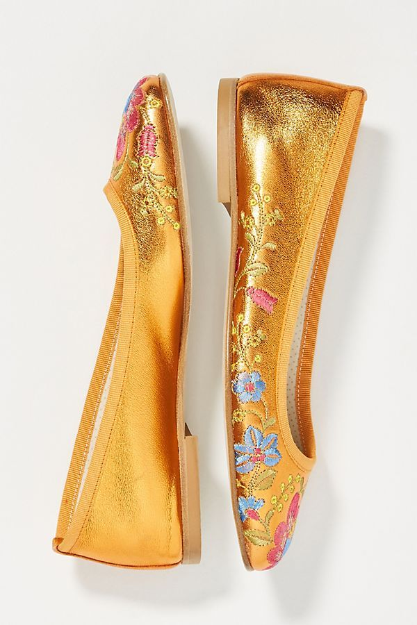f42b982b9746cf Embroidered Ballet Flats  ad  AnthroFave  AnthroRegistry Anthropologie