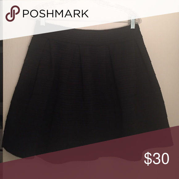 Express black skater skirt. Black skater skirt. Great condition. Express Skirts Circle & Skater