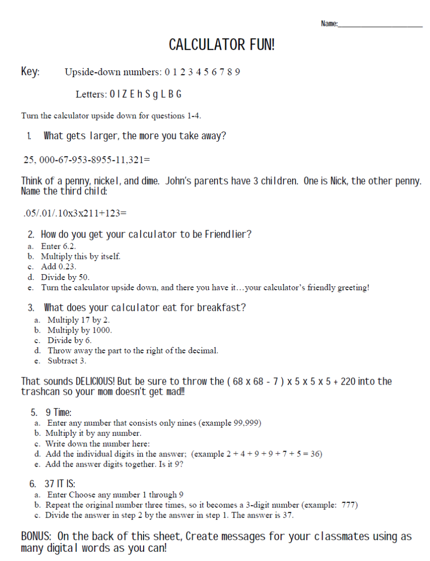 small resolution of Riddle Math Worksheet Answers - Nidecmege
